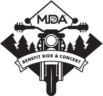 MDA Benefit Ride & Concert Logo